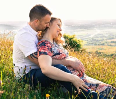 Dan & Nadya's Gloucestershire Pregnancy Shoot