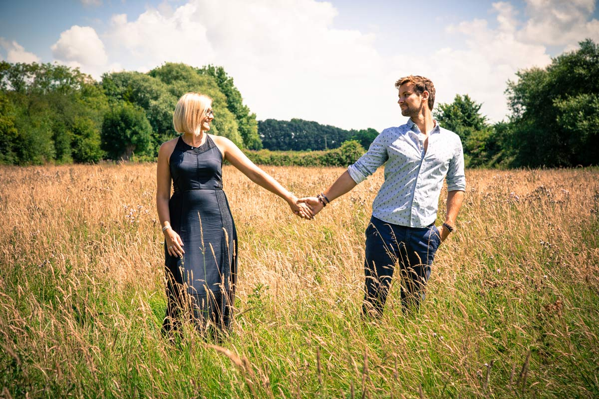 Engagement photoshoot tewkesbury photographer gloucestershire.