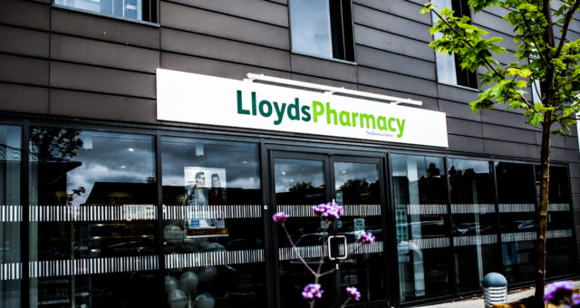 Lloyds Pharmacy Commercial Photography Tewkesbury