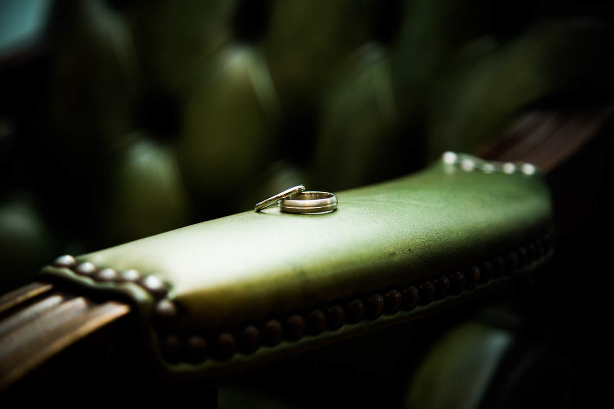 Milngavie Wedding Photographer. Wedding rings during Glasgow wedding