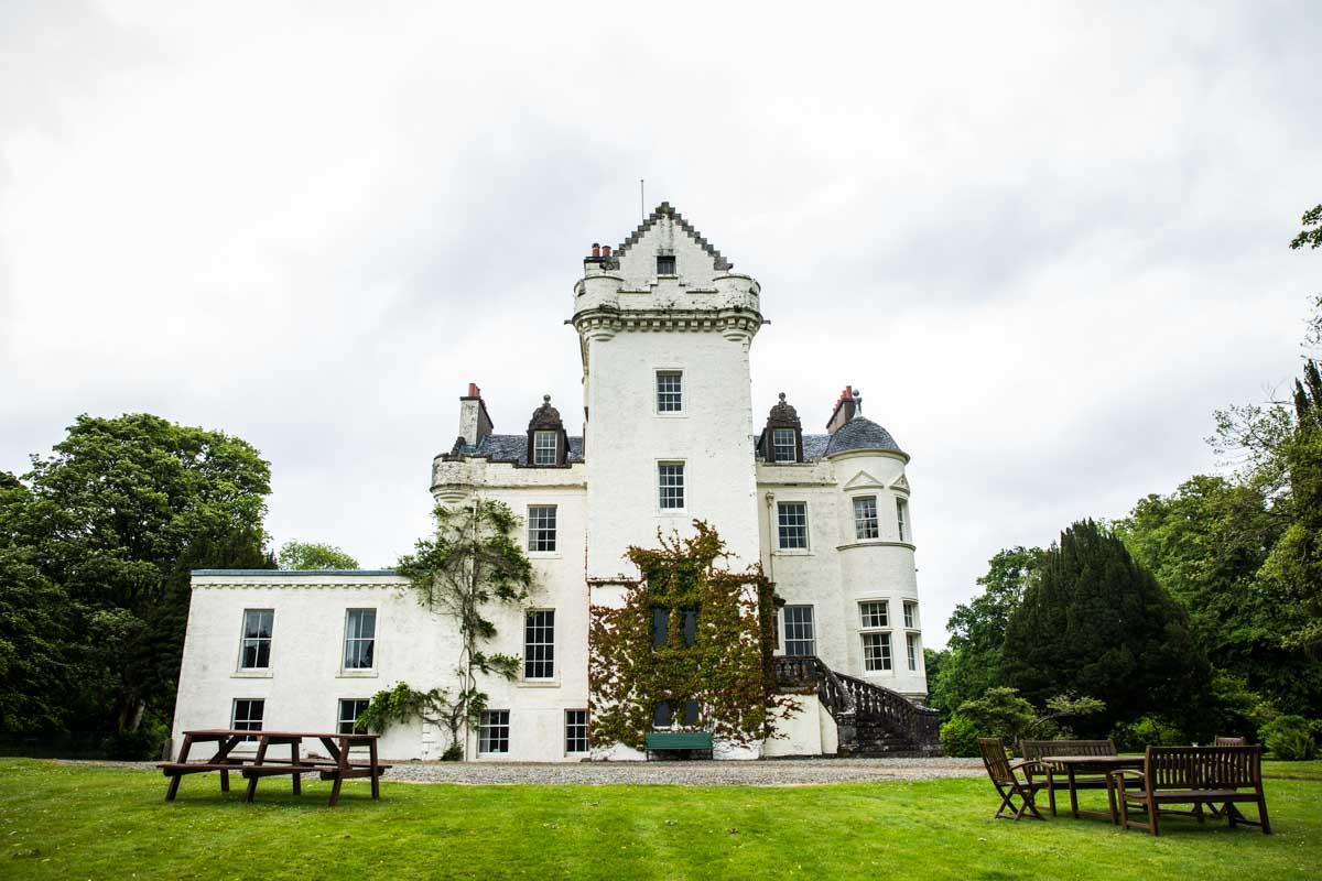 Castle Lachlan wedding photographer. Castle Lachlan wedding photography