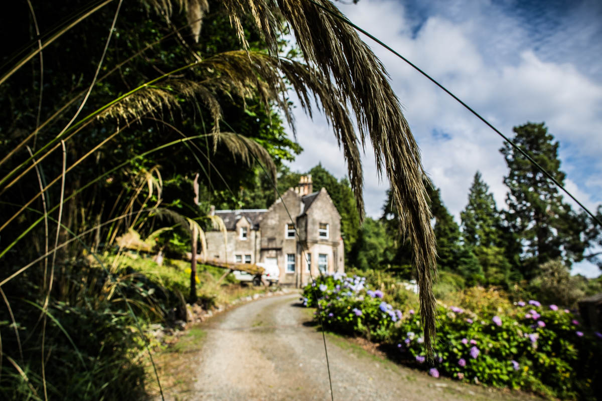Old Kilmun House wedding photography. Dunoon wedding photographer