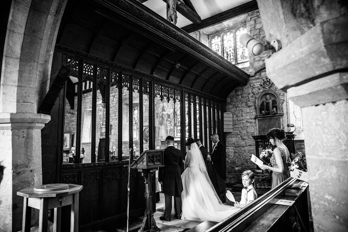 Church wedding, Glasgow wedding photographer