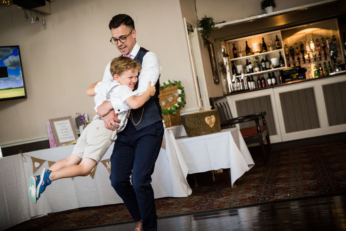 Games at weddings. Wedding photographer Glasgow