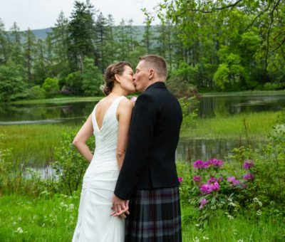 Culcreuch Castle Wedding – Michael & Merete