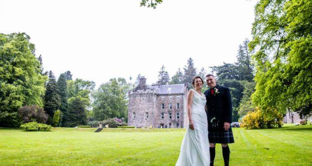 Culcreuch Castle Wedding